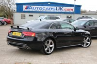 USED 2010 59 AUDI A5 3.0 TDI QUATTRO S LINE SPECIAL EDITION 2d AUTO 240 BHP