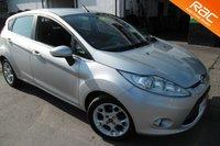 2011 FORD FIESTA 1.4 ZETEC 16V 5d AUTO 96 BHP £5500.00