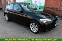 USED 2014 64 BMW 1 SERIES 1.6 114D ES 5d 94 BHP +BLUETOOTH +LOW Tax +Serviced.
