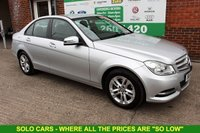USED 2014 14 MERCEDES-BENZ C CLASS 2.1 C220 CDI EXECUTIVE SE 4d 168 BHP +LOW Tax +Full LEATHER Seats.