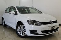 USED 2014 63 VOLKSWAGEN GOLF 2.0 SE TDI BLUEMOTION TECHNOLOGY 5DR 148 BHP SERVICE HISTORY + BLUETOOTH + CRUISE CONTROL + MULTI FUNCTION WHEEL + RADIO/CD + AIR CONDITIONING + 16 INCH ALLOY WHEELS