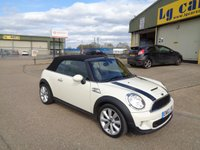 USED 2013 62 MINI CONVERTIBLE 1.6 COOPER S 2d 184 BHP