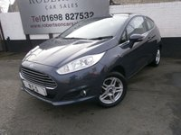 USED 2013 62 FORD FIESTA 1.6 ZETEC 3dr AUTO