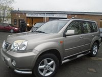 USED 2003 53 NISSAN X-TRAIL 2.5 SVE 5d AUTO 163 BHP FULL SERVICE HISTORY+NEW MOT ON SALE