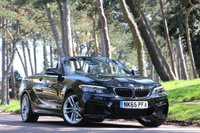 USED 2015 65 BMW 2 SERIES 218i M SPORT CONVERTIBLE AUTO