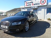 USED 2010 10 AUDI A5 2.0 SPORTBACK TDI S LINE 5d 168 BHP £49 PER WEEK NO DEPOSIT - SEE FINANCE LINK BELOW