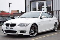 "USED 2013 63 BMW 3 SERIES 2.0 318I M SPORT 2d 141 BHP FULL SERVICE HISTORY,bluetooth,DAB radio,parking sensors,19""ALLOYS,HEATED SEATS"