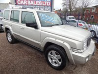 USED 2007 57 JEEP COMMANDER 3.0 V6 CRD LIMITED 5d AUTO 215 BHP 7 SEATER, LEATHER, PARKING SENSORS, F.S.H