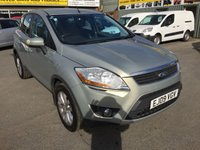 2009 FORD KUGA 2.0 TITANIUM TDCI AWD 5d 134 BHP IN METALLIC SILVER WITH FULL SERVICE HISTORY £7990.00