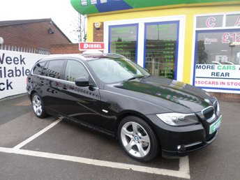2010 BMW 3 SERIES 2.0 318D EXCLUSIVE EDITION TOURING 5d 141 BHP £8500.00