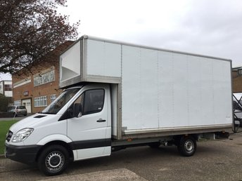 2013 MERCEDES-BENZ SPRINTER 2.1 316CDI LWB LUTON BOX JUMBO 163BHP. BIG 16FT BODY RARE SIZE £12995.00