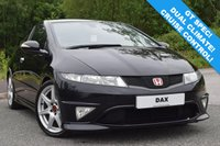 USED 2008 08 HONDA CIVIC 2.0 I-VTEC TYPE-R GT 3d 198 BHP FINISHED IN STUNNING NIGHTHAWK BLACK! GT SPEC WITH DUAL CLIMATE CONTROL! AUTO LIGHTS AND WIPERS! CRUISE CONTROL! STUNNING VTEC TO OVER 8000 RPM! SUPPLIED WITH FRESH 12 MONTHS MOT!