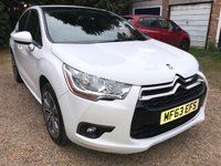 2013 CITROEN DS4 1.6 E-HDI DSTYLE AIRDREAM 5d AUTO 115 BHP £6995.00