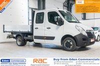 2015 VAUXHALL MOVANO 2.3 R3500 L3H1 CDTI CRC TIPPER DRW 1d 125 BHP £13495.00