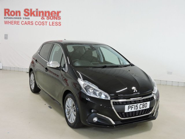 View our 2015 15 PEUGEOT 208 1.2 ALLURE 5d 82 BHP