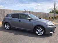 2015 LEXUS CT 1.8 200H LUXURY 5d AUTO 134 BHP £14425.00