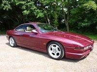 1999 BMW 8 SERIES 4.4 840CI SPORT 2d AUTO 282 BHP INDIVIDUAL £15995.00