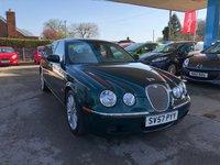 2007 JAGUAR S-TYPE 2.7 SE D 4d AUTO 206 BHP £5999.00