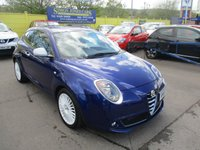 USED 2015 65 ALFA ROMEO MITO 0.9 TWINAIR JUNIOR 3d 105 BHP VIEWING HIGHLY RECOMMENDED !!