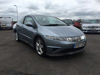 USED 2007 07 HONDA CIVIC 1.8 I-VTEC TYPE-S 3d 139 BHP