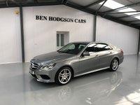 2014 MERCEDES-BENZ E CLASS 2.1 E220 CDI AMG SPORT 4d AUTO 168 BHP £19000.00