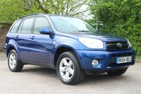 2004 TOYOTA RAV4 2.0 5d AUTO 146 BHP £2850.00