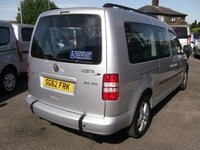 USED 2012 62 VOLKSWAGEN CADDY MAXI 2.0 C20 LIFE TDI 5d AUTO 140 BHP WHEELCHAIR ACCESS (M1) VERY RARE 2.0 TDI 140bhp AUTO WHEELCHAIR ACCESS