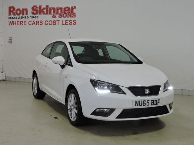View our 2015 65 SEAT IBIZA 1.0 VISTA 3d 74 BHP