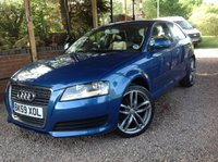 2009 AUDI A3 1.6 MPI TECHNIK 3d 101 BHP £SOLD