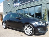 USED 2013 63 VOLKSWAGEN GOLF 2.0 GT TDI BLUEMOTION TECHNOLOGY 3d 148 BHP
