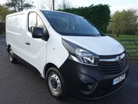 USED 2015 15 VAUXHALL VIVARO 2900 SWB 2.0CDTI 115Ps Rare Tailgate Model With Air Con! Direct From Leasing Company With Full Service History