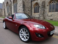 USED 2009 59 MAZDA MX-5 2.0 I POWERSHIFT 2d AUTO 158 BHP ++ ONLY 10000 MILES ++ ONE OWNER ++