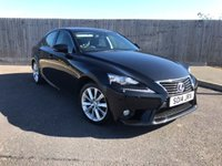 2014 LEXUS IS 2.5 300H LUXURY 4d AUTO 220 BHP £14885.00