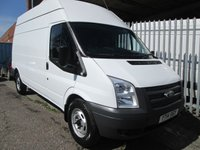 2014 FORD TRANSIT 350 LWB High roof RWD 100 PS *ONLY 34000 MILES* £SOLD