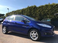 2017 FORD FIESTA 1.25 ZETEC 5d STILL WITH REMAINING MANUFACTURES WARRANTY £8500.00
