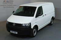 USED 2015 15 VOLKSWAGEN TRANSPORTER 2.0 T28 STARTLINE 102 BHP SWB ONE OWNER FROM NEW, FULL SERVICE HISTORY