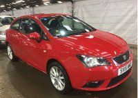 2015 SEAT IBIZA 1.4 TOCA 3d 85 BHP £6990.00