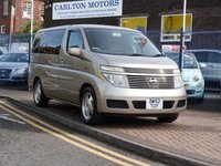 USED 2003 52 NISSAN ELGRAND VG 3.5 5d  SAT NAV ~ REAR CAMERA ~ BLUETOOTH ~ PRIVACY GLASS ~ CRUISE CONTROL ~ CLIMATE CONTROL