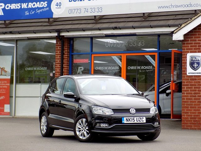USED 2015 15 VOLKSWAGEN POLO 1.0 SE 5dr  ** ONLY £20 ROAD TAX **