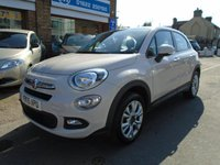 2015 FIAT 500X 1.4 MULTIAIR POP STAR 5d 140 BHP £9294.00
