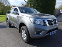 USED 2016 16 NISSAN NP300 NAVARA NP300 ACENTA 4x4 DOUBLE CAB PICK UP 2.3DCI 160PS Desirable 4x4 Doublecab With High Specification & Low Miles!
