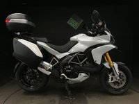 USED 2012 12 DUCATI MULTISTRADA 1200 S TOURING. 2012. FSH. 17K. RECENT VALVES AND BELTS. OHLINS