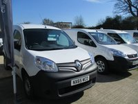 2015 RENAULT KANGOO 1.5 ML19 DCI 75 BHP PLUS VAN WITH A/C £6250.00