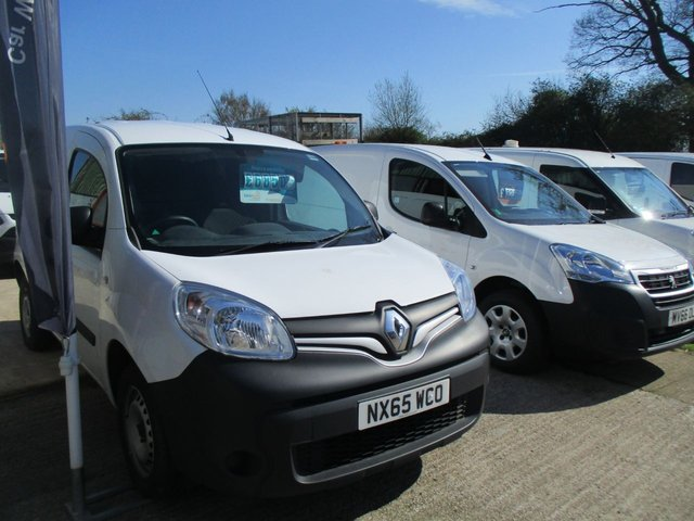 2015 65 RENAULT KANGOO 1.5 ML19 DCI 75 BHP PLUS VAN WITH A/C