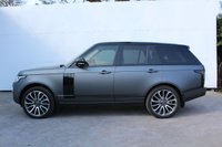 USED 2016 16 LAND ROVER RANGE ROVER 4.4 SDV8 VOGUE SE 5d AUTO 339 BHP WRAPPED IN MATT GREY WITH BLACK BADGES AND BLACK MIRROR CAPS, ROOF AND SIDE VENTS , 1 PRIVATE OWNER FROM NEW, FULL DEALER SERVICE HISTORY, 22' FACTORY ALLOYS, DUAL SCREEN SATELLITE NAVIGATION/ TV.