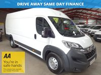 "USED 2015 15 CITROEN RELAY 2.2 35 HEAVY L4H2 EX LWB ENTERPRISE HDI 130 BHP-**VERY LOW  MILEAGE** ""YOU'RE IN SAFE HANDS"" - AA DEALER PROMISE"