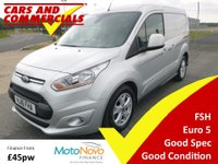 2016 FORD TRANSIT CONNECT 200 L1 SWB Limited 115ps £8995.00