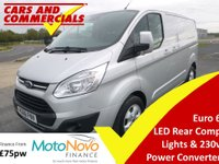 2016 FORD TRANSIT CUSTOM 270 L1 SWB Limited 130ps (Euro 6) £14300.00
