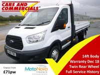 2015 FORD TRANSIT DROPSIDE 350 L4 (DRW) 125ps £14250.00