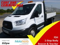 2014 FORD TRANSIT TIPPER 350 L2 RWD DRW 1-Stop 125ps £12500.00